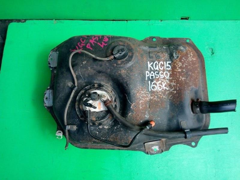 Бензобак Toyota Passo KGC15 1KR-FE (б/у)
