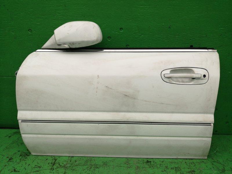 Дверь Mitsubishi Diamante F15A передняя левая (б/у)