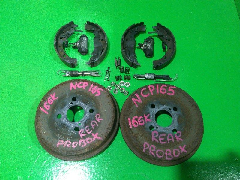 Тормозной барабан Toyota Probox NCP165 задний (б/у)