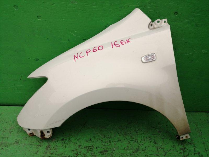 Крыло Toyota Ist NCP60 переднее левое (б/у)