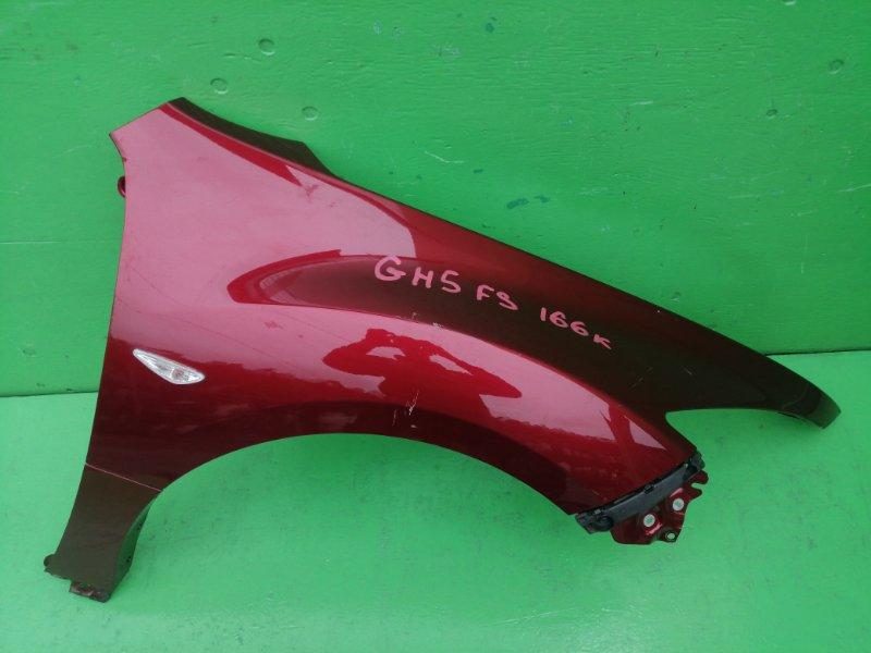 Крыло Mazda Atenza GH5FS переднее правое (б/у)