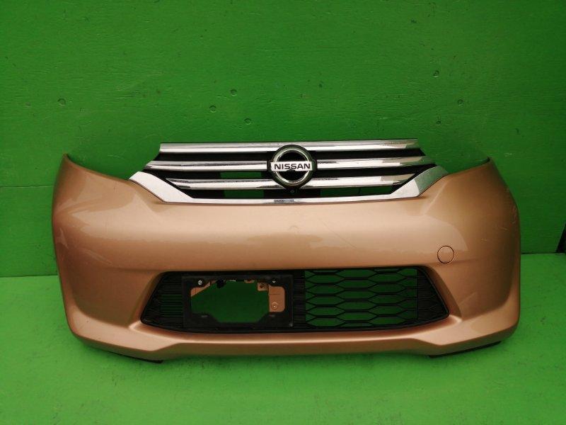 Бампер Nissan Dayz Roox B21A 2015 передний (б/у)