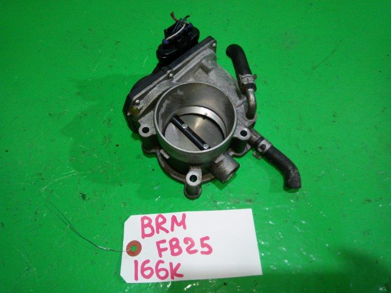 Дроссельная заслонка Subaru Legacy BRM FB25 (б/у)
