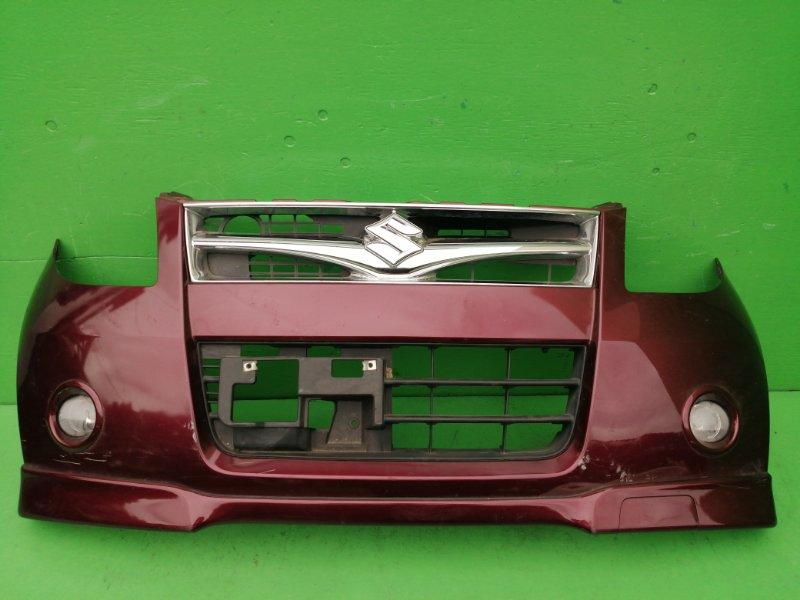 Бампер Suzuki Palette MK21S передний (б/у)