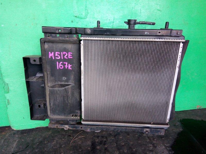 Радиатор основной Toyota Passo Sette M512E (б/у)