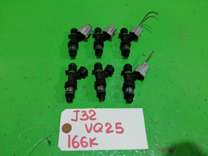 Форсунки комплект Nissan Teana J32 VQ25-DE (б/у)