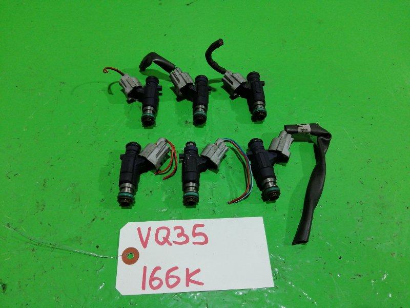Форсунки комплект Nissan VQ35-DE (б/у)