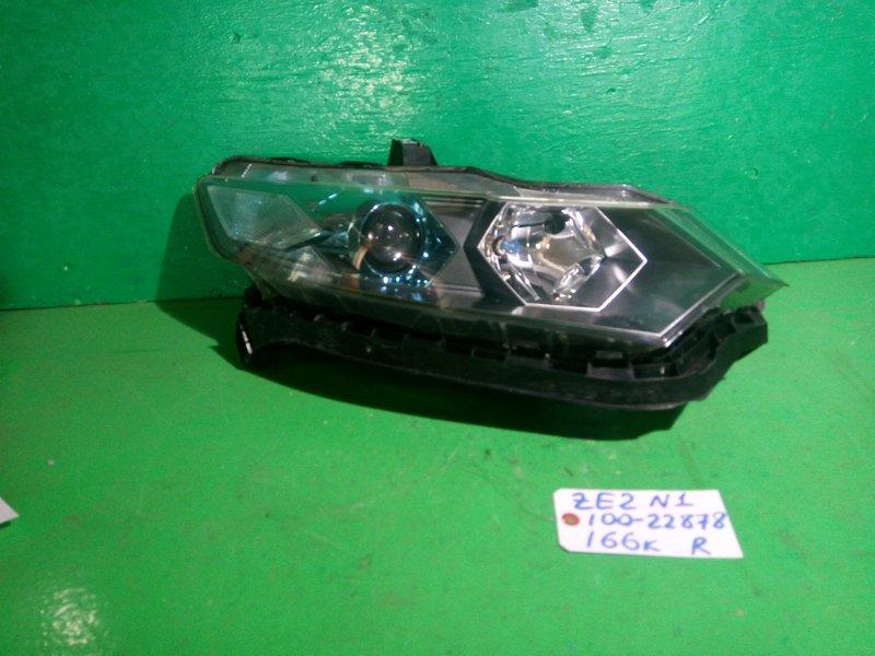 Фара Honda Insight ZE2 правая (б/у) №1