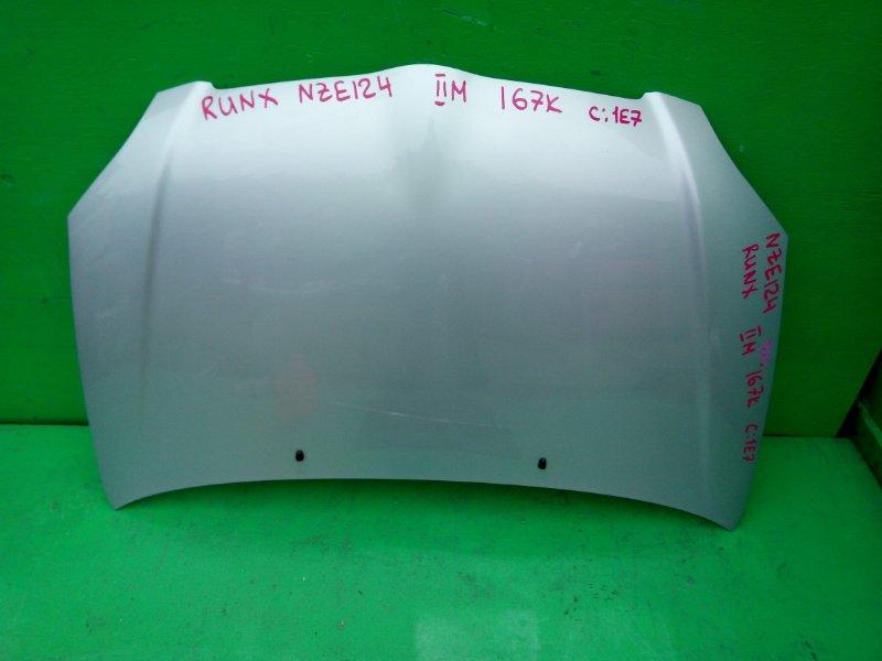 Капот Toyota Corolla Runx NZE124 (б/у)