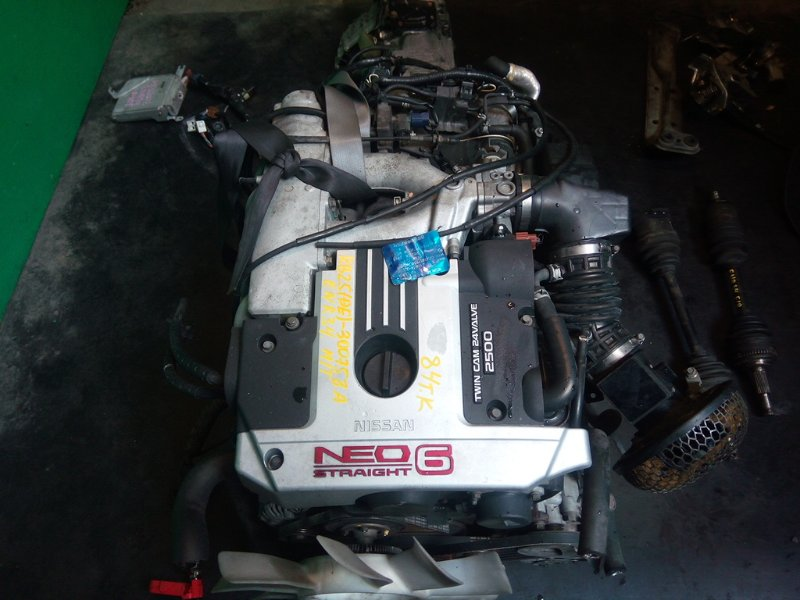 Двигатель Nissan Skyline R34 RB25-DE (б/у)