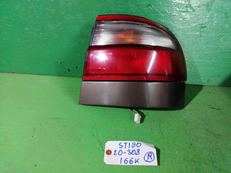 Стоп-сигнал Toyota Corona ST190 правый (б/у)