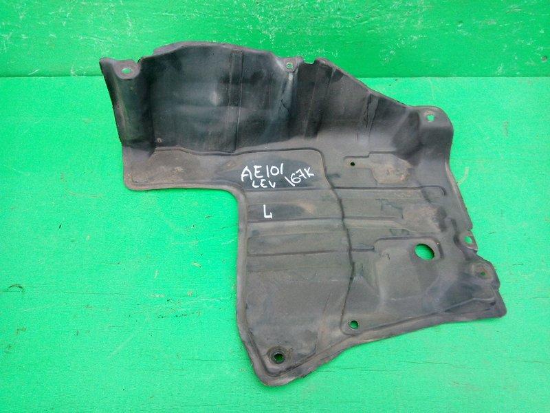 Защита двигателя Toyota Levin AE101 передняя левая (б/у)