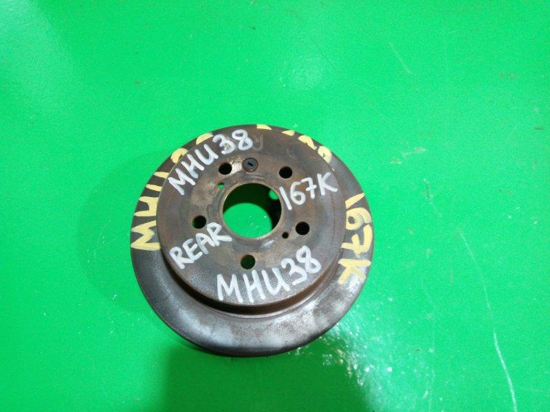 Тормозной диск Toyota Harrier MHU38 задний (б/у)