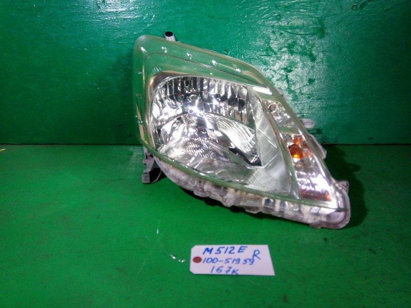 Фара Toyota Passo Sette M512E правая (б/у)