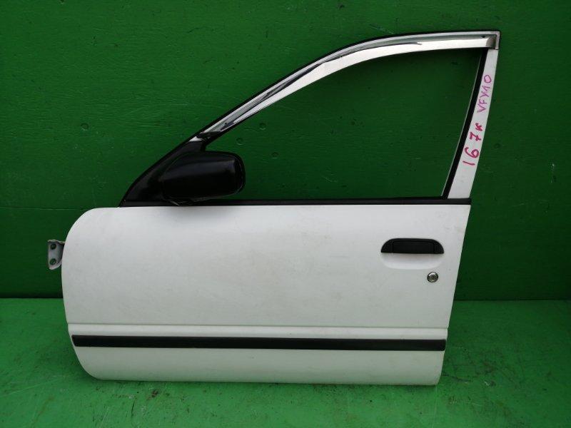 Дверь Nissan Avenir W10 передняя левая (б/у)