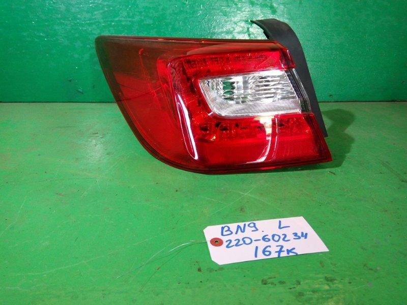 Стоп-сигнал Subaru Legacy BN9 левый (б/у)