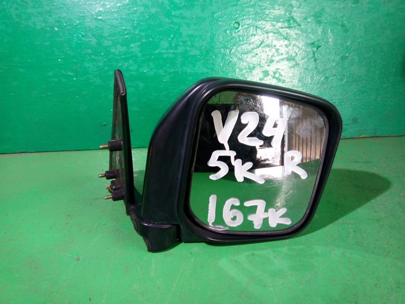 Зеркало Mitsubishi Pajero V24W правое (б/у)