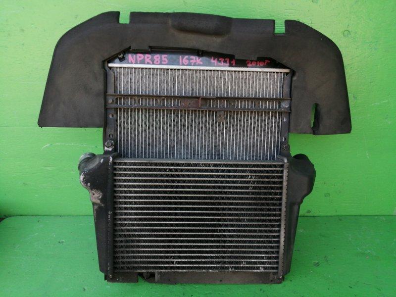 Радиатор основной Isuzu Elf NPR85 4JJ1 (б/у)