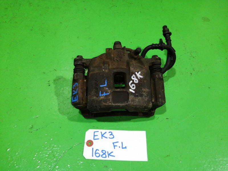 Суппорт Honda Civic EK3 передний левый (б/у)