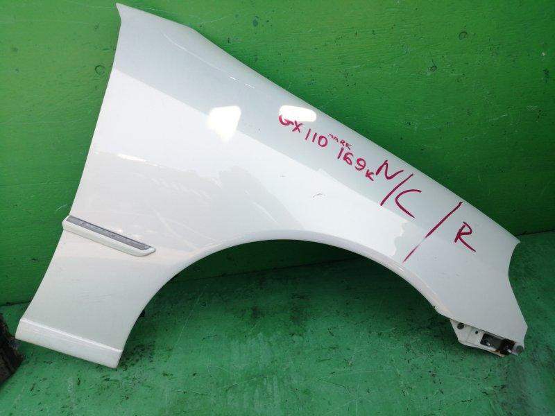 Крыло Toyota Mark Ii GX110 2003 переднее правое (б/у)