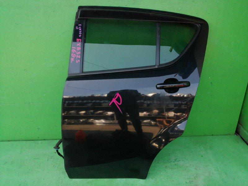 Дверь Suzuki Splash EXB32S задняя левая (б/у)