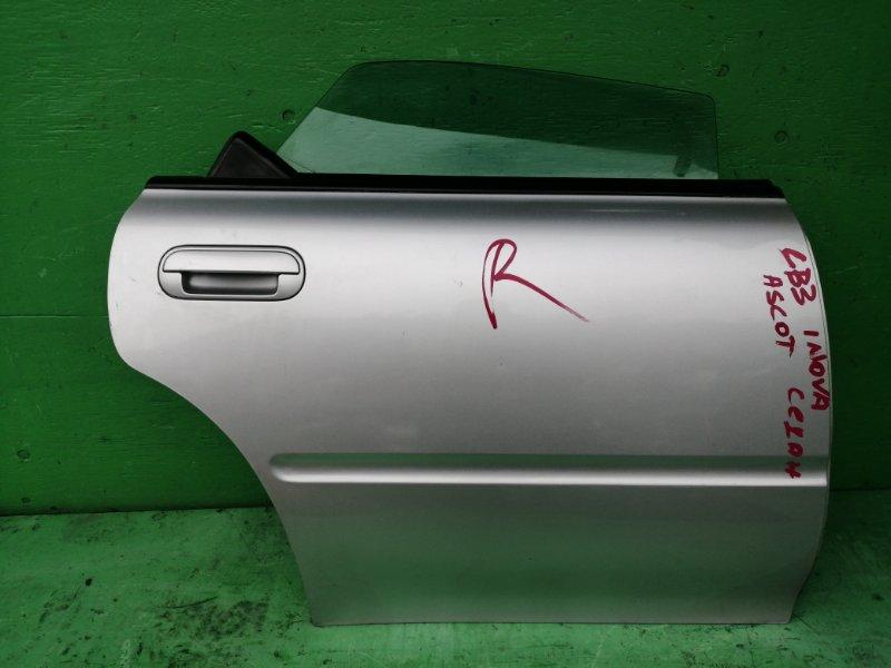 Дверь Honda Ascot Innova CB3 задняя правая (б/у)