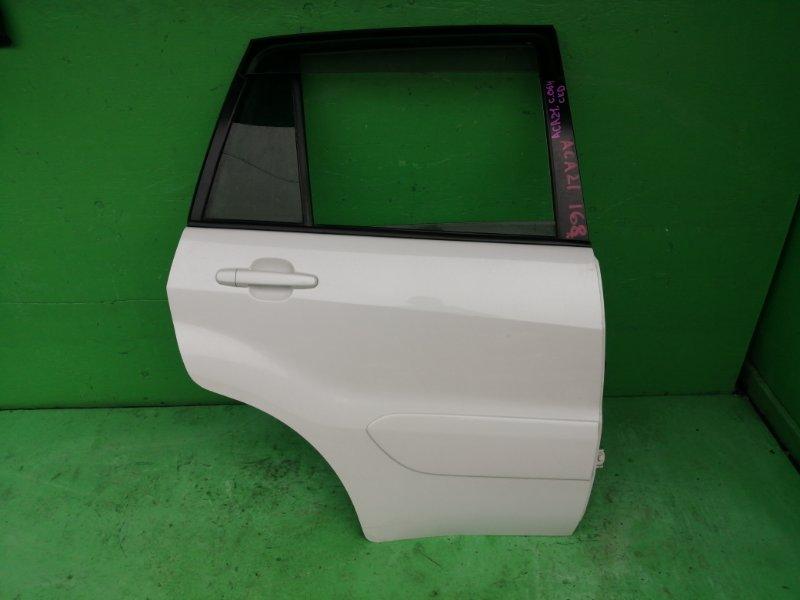 Дверь Toyota Rav4 ACA21 задняя правая (б/у)