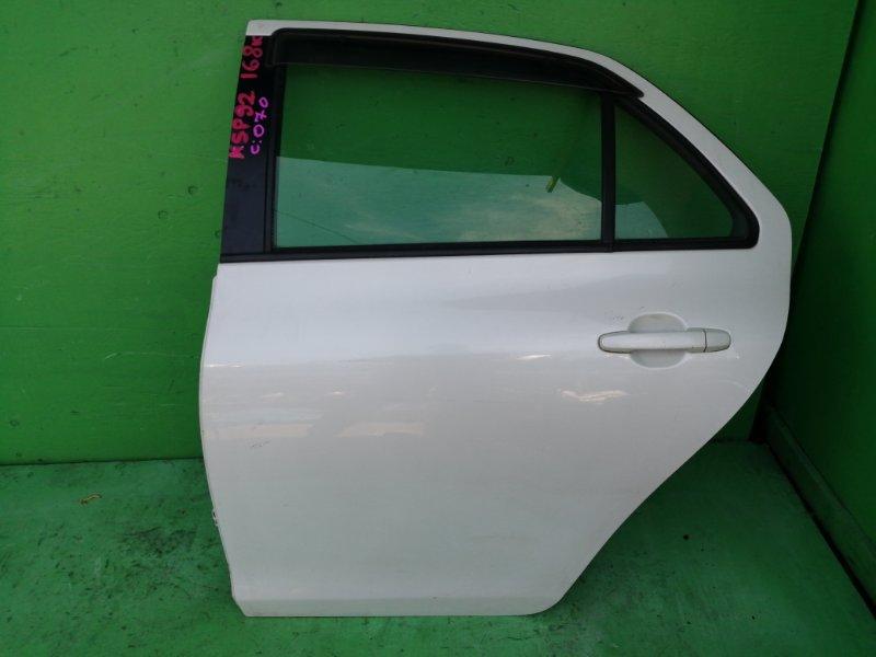 Дверь Toyota Belta KSP92 задняя левая (б/у)