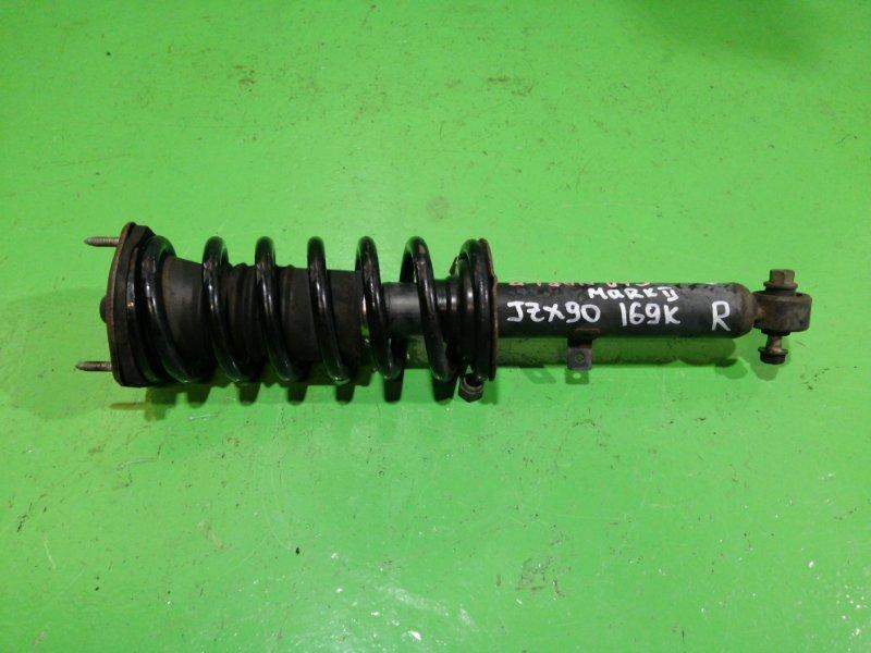 Стойка Toyota Mark Ii JZX90 передняя правая (б/у)