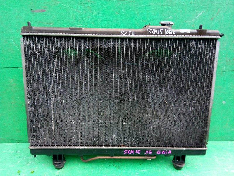 Радиатор основной Toyota Gaia SXM15 3S-FE (б/у)