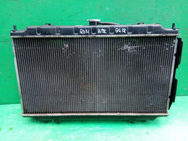 Радиатор основной Nissan Bluebird U14 QG18-DE (б/у)