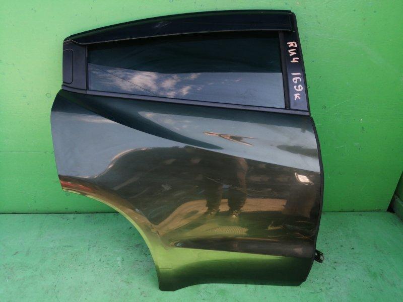 Дверь Honda Vezel RU4 задняя правая (б/у)
