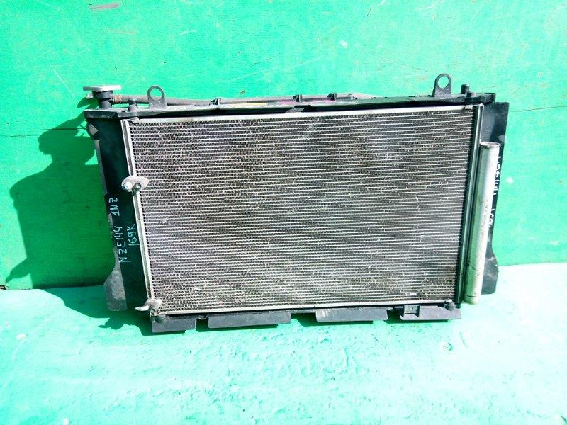 Радиатор основной Toyota Fielder NZE144 1NZ-FE (б/у)