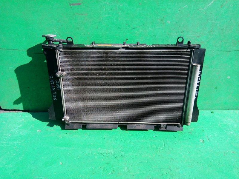 Радиатор основной Toyota Fielder NZE141 1NZ-FE (б/у)