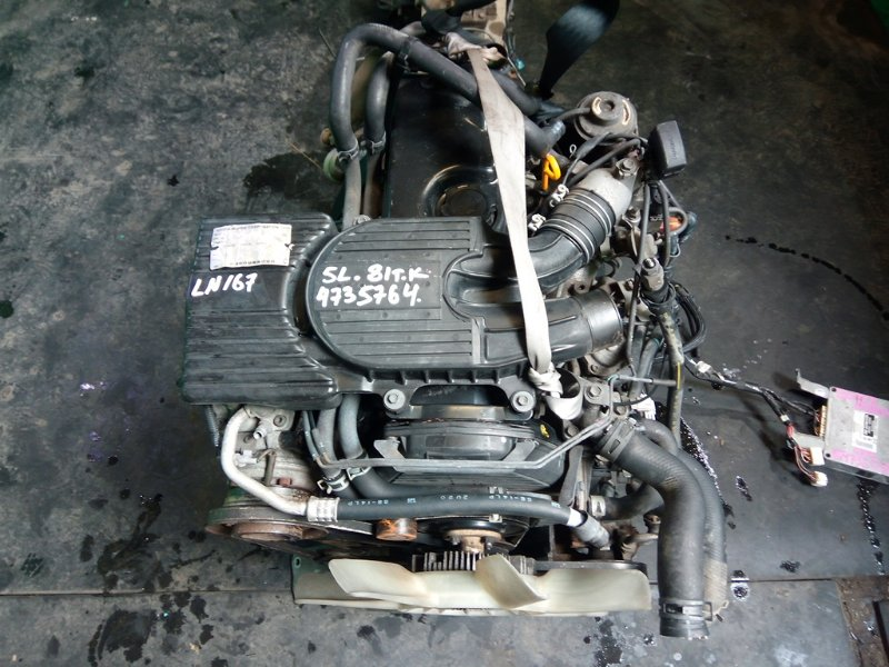 Двигатель Toyota Hilux LN167 5L (б/у)