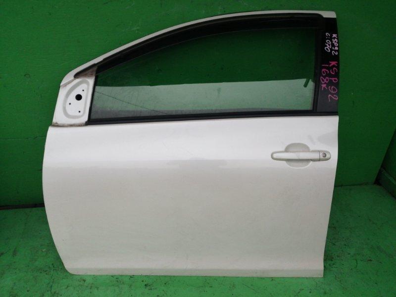 Дверь Toyota Belta KSP92 передняя левая (б/у)