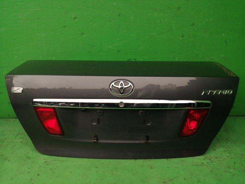 Крышка багажника Toyota Premio ZZT245 (б/у)