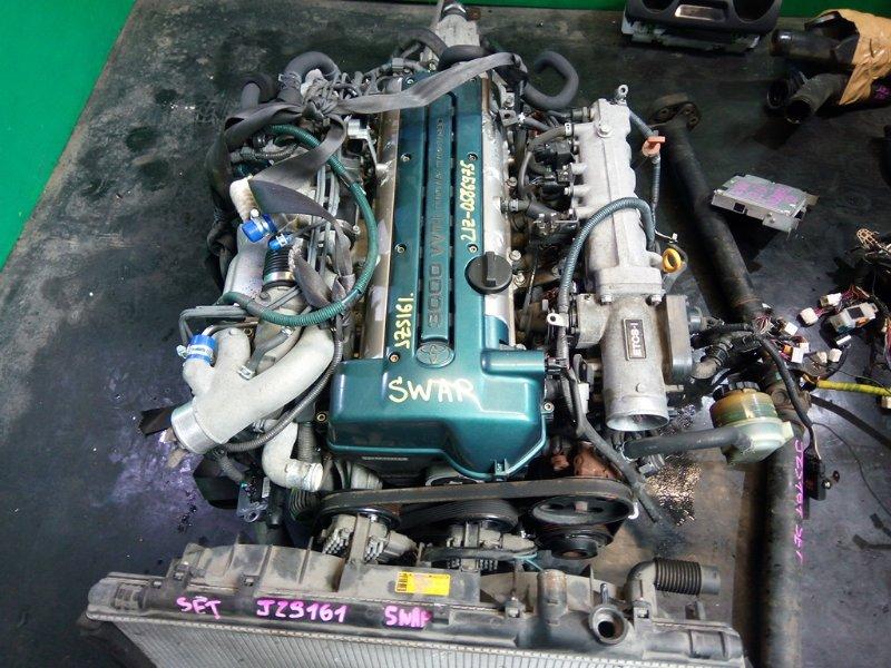 Двигатель Toyota Aristo JZS161 2JZ-GTE (б/у)