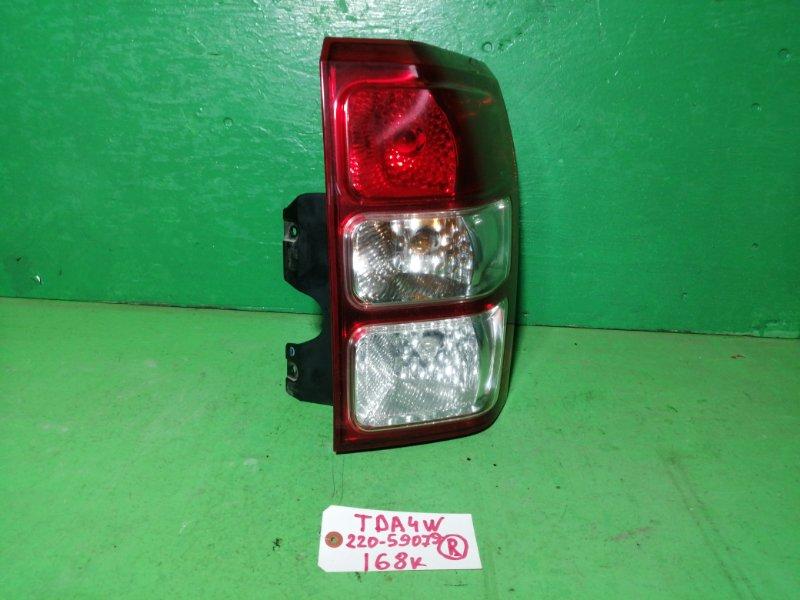 Стоп-сигнал Suzuki Escudo TDA4W правый (б/у)