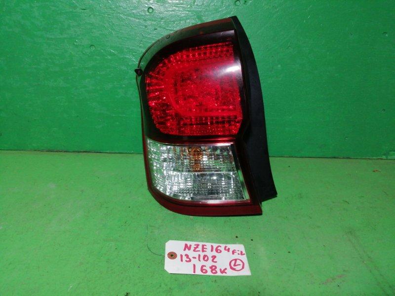 Стоп-сигнал Toyota Corolla Fielder NZE164 левый (б/у)