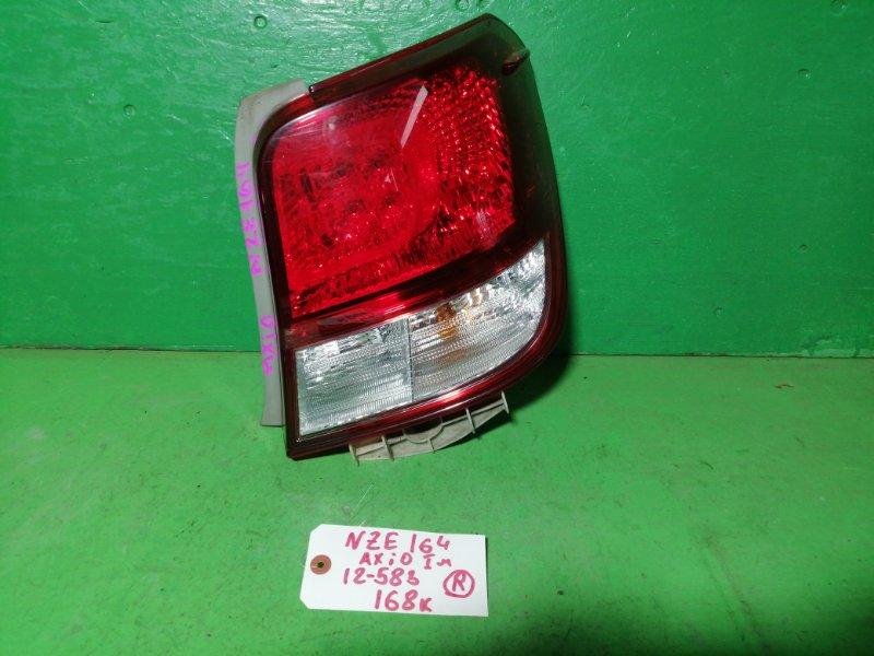 Стоп-сигнал Toyota Corolla Axio NZE164 правый (б/у)