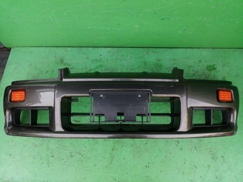 Бампер Nissan Skyline R34 передний (б/у)