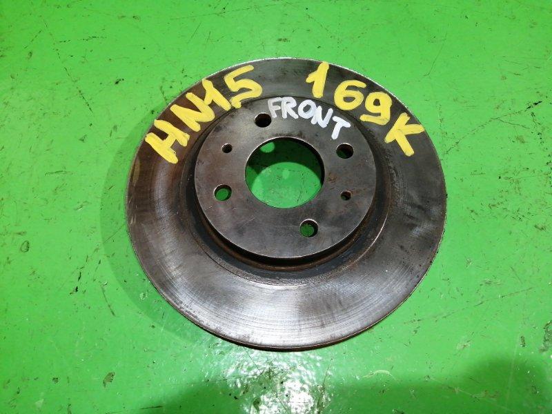 Тормозной диск Nissan Pulsar HN15 передний (б/у)