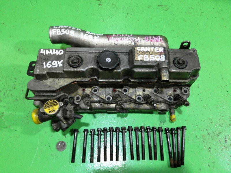 Головка блока цилиндров Mitsubishi Canter FB508 4M40 (б/у)