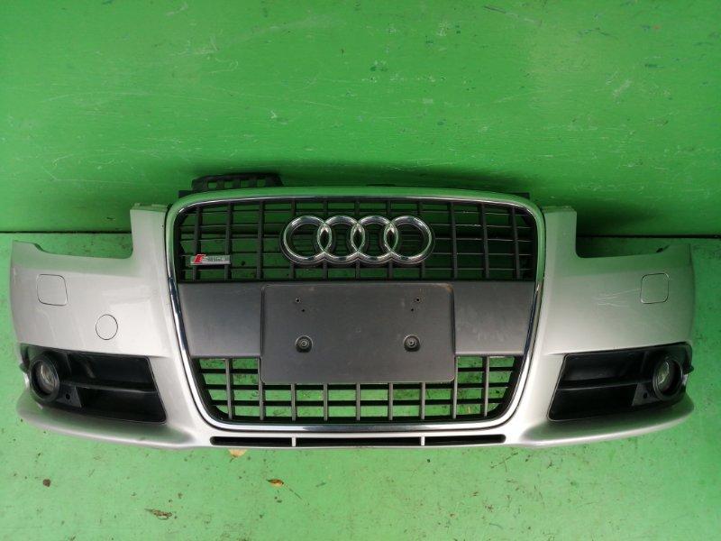 Бампер Audi A4 8EALT 2008 передний (б/у)