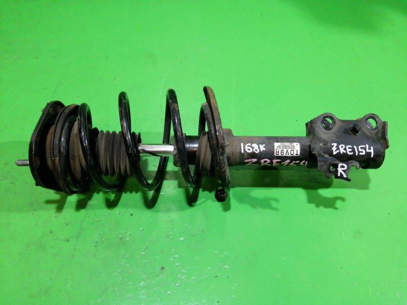 Стойка Toyota Auris ZRE154 передняя правая (б/у)