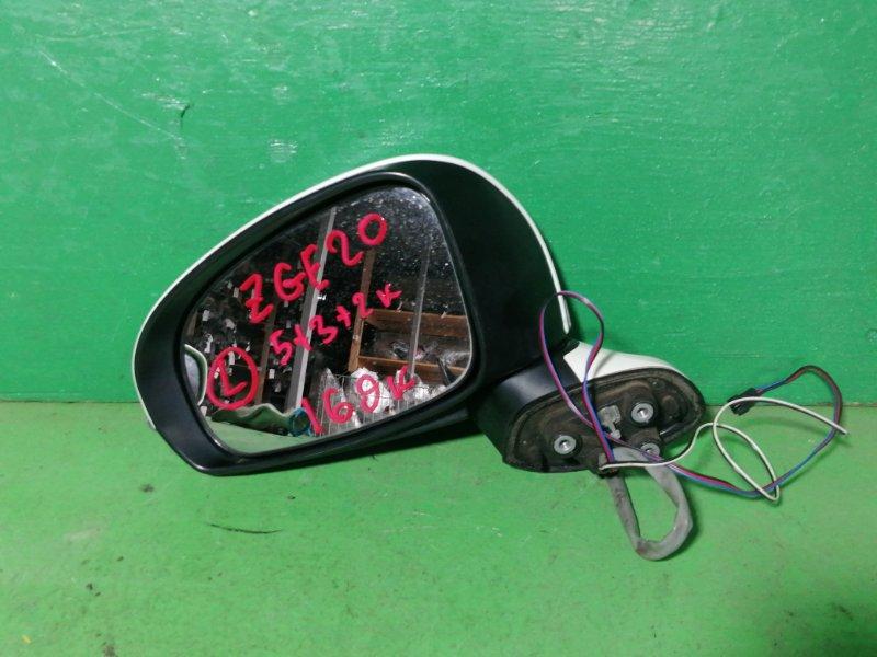 Зеркало Toyota Wish ZGE20 левое (б/у)