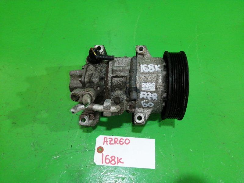 Компрессор кондиционера Toyota Voxy AZR60 (б/у)