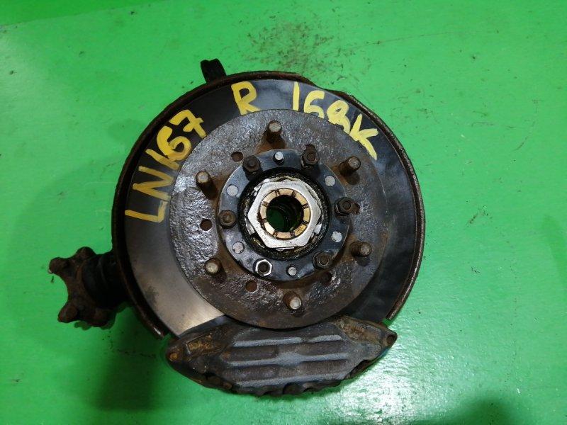 Ступица Toyota Hilux LN167 передняя правая (б/у)
