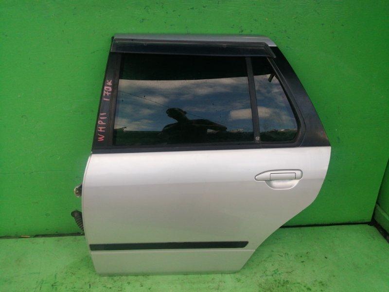 Дверь Nissan Primera P11 задняя левая (б/у)